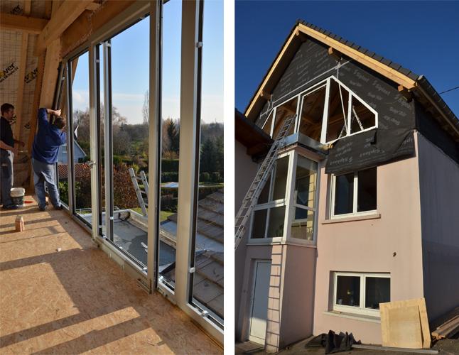 Clerc detolle thiebaut architectes strasbourg clerc - Baie vitree pour toiture ...